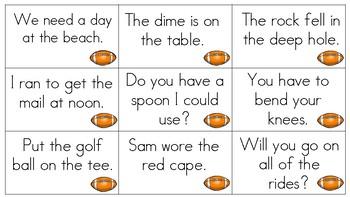 Scoring With Fluency-Fluency Practice