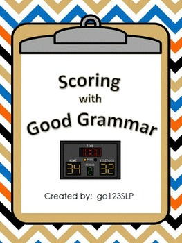 Basketball Fun - Scoring with Good Grammar