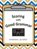 Basketball Fun - Scoring with Good Grammar