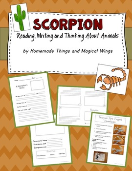 Scorpion: Reading, Writing, and Thinking About Animals