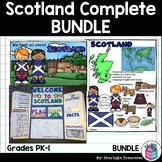 Scotland Complete Country Study for Early Readers - Scotland Country Bundle