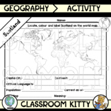 Scotland Fact File Worksheet