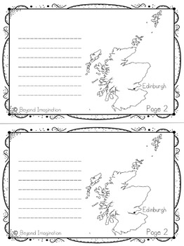 Scotland Country Study | 48 Pages for Differentiated Learning + Bonus Pages