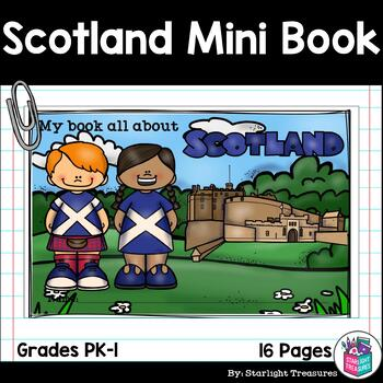 Scotland Mini Book for Early Readers - A Country Study