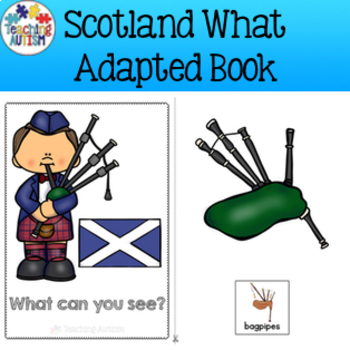 Scotland, What Can You See, Adapted Book