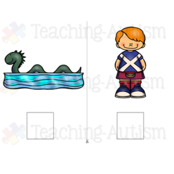 Scotland Adapted Book (For Special Education)