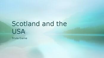 Scotland vs USA Trivia Game