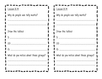 Scott Foresman 1st Grade Math Journal