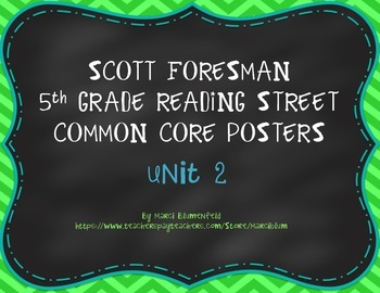 Scott Foresman 5th Common Core Posters Unit 2