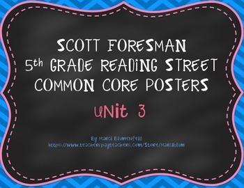 Scott Foresman 5th Common Core Posters Unit 3