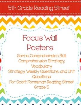 Scott Foresman 5th Focus Wall