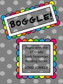 Scott Foresman Boggle LONG VOWELS BUNDLE