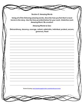 Scott-Foresman Cliff Hanger Vocab and Amazing Words Quiz