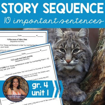 Grade 4, Unit 1 SEQUENCE for use with Reading Street