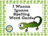Scott Foresman I Wanna Iguana Spelling Word Cards