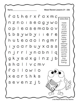 Scott Foresman Journeys High Frequency Word Searches, First Grade Bundle Pack