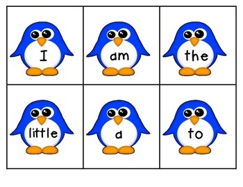 Scott Foresman Kindergarten HFW Flashcards/Write the Room