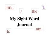 Scott Foresman Kindergarten sight words