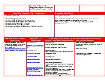 Scott Foresman Lesson Plans Week Five Chapter 3-3 through 3-8