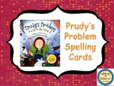 Scott Foresman Prudy's Problem Spelling Word Cards
