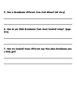 Scott Foresman Reading Street 08 Gr 2 Unit 6 Story 1 Comprehension Questions