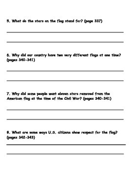 Scott Foresman Reading Street 08 Gr. 2 Unit 6 Story 2 Comprehension Questions