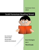 Scott Foresman Reading Street 2013 Common Core Unit 3 for