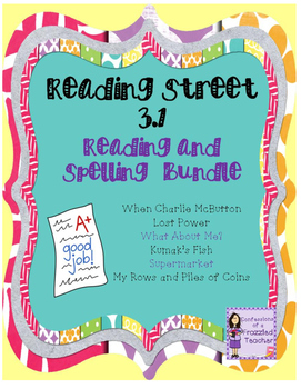 Scott Foresman Reading Street 3.1 Reading and Spelling Bundle