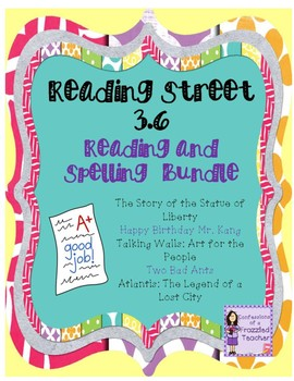 Scott Foresman Reading Street 3.6 Reading and Spelling Bundle