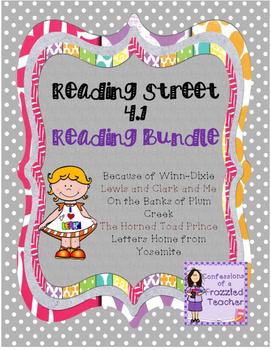 Scott Foresman Reading Street 4.1 Reading Bundle