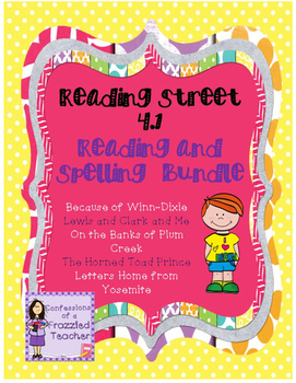 Scott Foresman Reading Street 4.1 Reading and Spelling Bundle