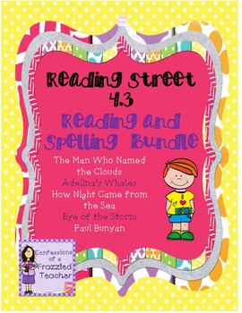 Scott Foresman Reading Street 4.3 Reading and Spelling Bundle