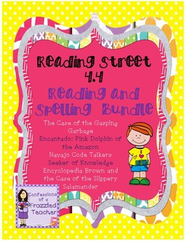 Scott Foresman Reading Street 4.4 Reading and Spelling Bundle