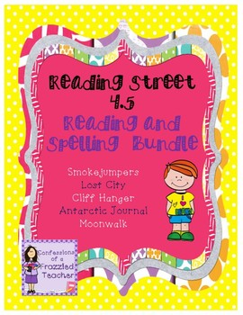 Scott Foresman Reading Street 4.5 Reading and Spelling Bundle