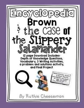 Scott Foresman Reading Street: Encyclopedia Brown Case of the Missing Salamander
