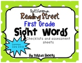Reading Street First Grade High-Frequency/Sight Word Lists (2013 Edition)