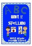 Scott Foresman Reading Street First Grade Unit 2 Spelling