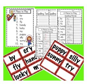Scott Foresman Reading Street First Grade Unit 3 Spelling