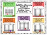 Scott Foresman Reading Street-First Grade Units1-5 Sight W