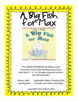 A Big Fish for Max SMARTboard Lesson Scott Foresman Readin