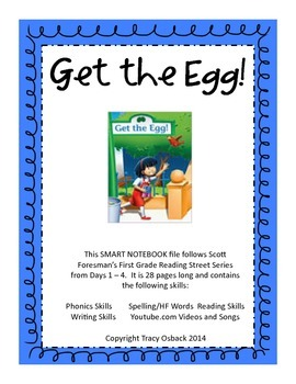 Get the Egg SMARTboard Lesson Scott Foresman Reading Street Grade 1