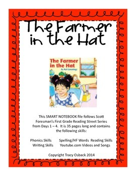 The Farmer in the Hat SMARTboard Lesson Scott Foresman Reading Street Grade 1
