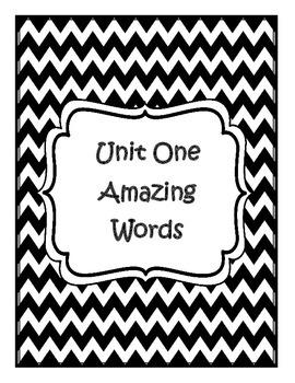 Scott Foresman Reading Street Grade Three Unit One Amazing Words