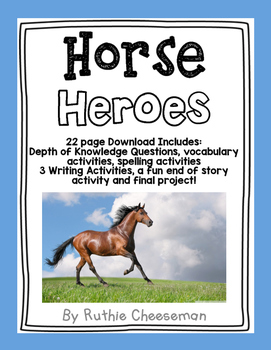 Scott Foresman Reading Street: Horse Heroes