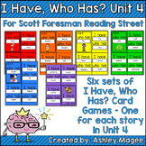 Scott Foresman Reading Street I Have Who Has Spelling Cards Unit 4 1st Grade