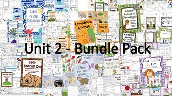 Scott Foresman Reading Street Kindergarten - Unit 2 Bundle Pack