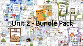 Scott Foresman Reading Street Kindergarten - Unit 2 Bundle Pack