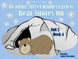 Scott Foresman Reading Street Kindergarten  Unit 2 Week 4 Bear Snores On
