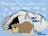 Scott Foresman Reading Street Kindergarten  Unit 2 Week 4 Bear Snores On