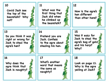 Scott Foresman Reading Street Kindergarten Unit 2 Week 6 Jack and the Beanstalk